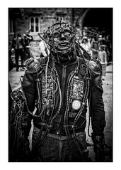 Steampunk Borg (Photography And All That) Tags: borg star trek victorian steampunk streetphotography street streets steampunkweekend steampunks scifi victorianscifi portraits portrait people portraiture posing pose poses photoborder costume costumes sony sonyalpha7mark3 sonyilce7m3 sonyalpha ilce7m3 lincoln lincs lincolnsteampunkweekend asylum strange weird cosplay costumed blackwhite blackandwhite monochrome monochromatic monochromes man character expression expressions expressive event events festival festivals pathos