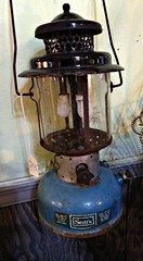 Vintage Sears pressure lantern (Dave* Seven One) Tags: sears searslantern pressurelantern 1968 classic vintage camping campingequipment rusty rot antique antiquestore fleamarket coleman