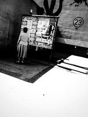 23 (seba0815) Tags: ricohgrdiv monochrome grd 23 bw blackwhite blackandwhite blanc noir streetphotography people poland polska czarnobiale seba0815 urban urbanliving contrast light overexposed
