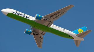 TLV - Uzbekistan Airways Boeing 767-300 UK67005
