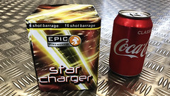 STAR CHARGER 16 SHOTS CAKE BY EPIC FIREWORKS (EpicFireworks) Tags: star charger 16 shots cake by epic fireworks