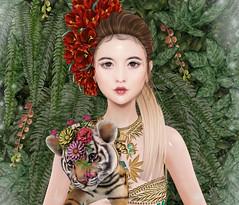 Go&See - Naiya (Gabriella Marshdevil ~ Trying to catch up!) Tags: sl secondlife cute kawaii doll catwa pinkacid gosee bento asian applier foxy