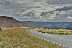 Fiddler's Elbow Road (Bri_J) Tags: stanageedge peakdistrict nationalpark hathersage derbyshire uk hills countryside nikon d7200 hdr clouds sky fiddlerselbow road