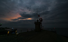 Havenhoofd Oudeschild, 6:45h (Jan R. Ubels) Tags: havenhoofd morgen zonsopkomst sunrise ochtend texel oudeschild