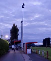 Llandovrey - Blue Hour (scuba_dooba) Tags: brecon beacons uk wales llandovrey carmarthenshire camping camp site blue pitch rugby ground hour