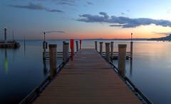 twilight (Erich Hochstöger) Tags: lakegarda italy garda lake evening eveningmood sunset pier clouds landscape longexposure see abend abendstimmung sonnenuntergang steg wolken landschaft langzeitbelichtung canoneos70d sigma1020mmf35exdc