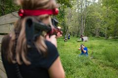 hocking-6629 (FarFlungTravels) Tags: activities fun games gun hockinghills lasertag laurawatiloblake obstacles ohio shoot tourism woods 2018