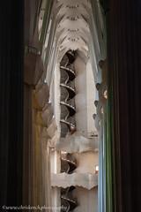 Sagrada Família staircase (www.chriskench.photography) Tags: nikon d700 gaudi buildings chriskench sagradafamilia chriskenchphotography copyright barcelona antonigaudi espana architecture wwwchriskenchphotography kenchie europe spain barcelonaprovince es