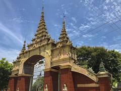 Thanbodday PayaIMG_1979 (flanaan) Tags: thanbodday paya monywa myanmar buddhist temple carnivalesque exterior