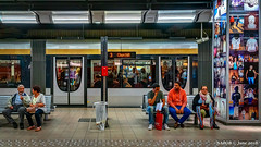 Brussels, Belgium: Anneessens tram station (Lines 3 & 4) (nabobswims) Tags: anneessens belgium brussels bruxelles hdr highdynamicrange ilce6000 lightroom metro mirrorless nabob nabobswims photomatix rapidtransit sel18105g sonya6000 station subway tram ubahn be