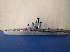 _20180910_153931 (Lego shipyard) Tags: lego cruiser ship carrier 1123 condor moskva moscow leningrad лего корабль крейсер вертолетоносец кондор москва ленинград