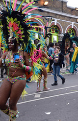 DSC_8323b (photographer695) Tags: notting hill caribbean carnival london exotic colourful costume girls dancing showgirl performers aug 27 2018 stunning ladies