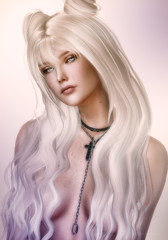 One Chance... (beloved.ruby) Tags: glamaffair glamaffairskins glamaffairskinappliers glamaffairskinappliersforcatwa aulovely secondlife secondlifeevents tableauvivant tableauvivanthair slevents catwa