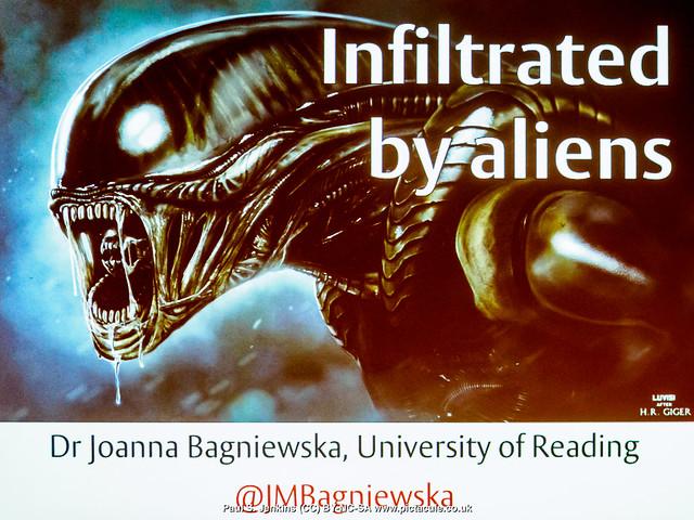 P8300174 Joanna Bagniewska at Winchester Skeptics