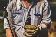 Blacksmithing (chrisbrennerphoto) Tags: blacksmith blacksmithing forge metal metalworking fire iron steel craftsman hand handmade