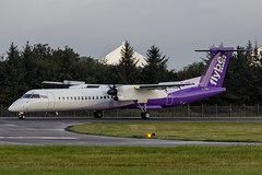 G-JECP EDI 13.9.18 (Mike stanners) Tags: propliner edi bee egph flybe