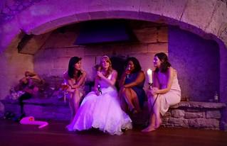 Nokia Lumia 1020 - The bride and her ladies - Simon & Abbie's Wedding - Thornbury Castle near Bristol, Sept 2016