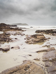 Polzeath  Beach (Steve_Mallett) Tags: beach coastal cornwall earlymorning england landscape morningwalk penf photostevemallett polzeath urban wwwstevemallettphotos gbr