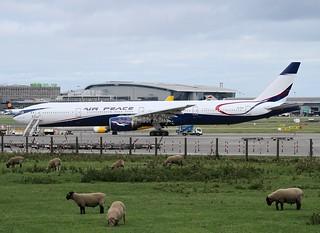 Air Peace      ( Nigeria )                              Boeing 777                                      5N-BUU