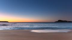 Early Morning Seascape (Merrillie) Tags: daybreak sunrise nature dawn morning coast water northpearlbeach sea newsouthwales rocks pearlbeach nsw rocky waterscape ocean earlymorning landscape waves coastal clouds outdoors seascape australia centralcoast sky seaside