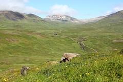 Gunnhildardalur og Hvítserkur (Freyja H.) Tags: iceland eastfjords víknaslóðir húsavík nature landscape outdoor hike trek hvítserkur gunnhildardalur