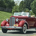 1939 Cherry Red Packard Convertible