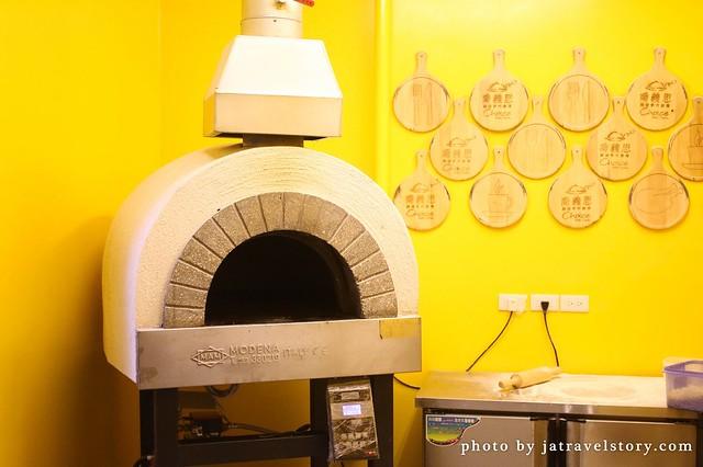 choice喬義思窯烤手作廚房 窯烤薄脆披薩口感酥脆!【基隆美食】 @J&A的旅行
