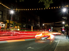 Speed (MomoFotografi) Tags: longexposure live composite lights street cars montreal stlaurent saintlaurent rue avenue boulevard lumieres