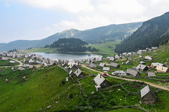 Prokoško Lake, Bosnia and Herzegovina (HimzoIsić) Tags: landscape mountain mountainside mountaineering countryside rural village lake water outdoor nature grassland grass green hill sky clouds place travel