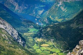 Geiranger valley