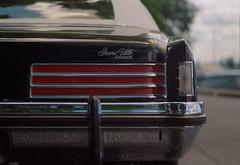 Grand Ville By Pontiac (Jovan Jimenez) Tags: grand ville car vintage pontiac canon elan 7ne hasselblad planar 80mm f28 kodak portra 800 film carl zeiss 7s 30v 33v break light