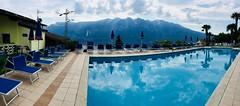 Lago Di Garda, Tremosine, Hotel Lucia (Aled Wright) Tags: lakegarda lagodigarda italy lakes panorama outdoor landscape mountains tremosine hotellucia swimmingpool