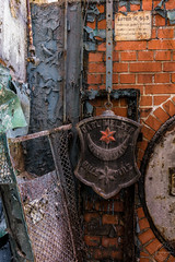 Abandoned Boiler House Detail (Urbex Germania) Tags: lostplace lostplaces lostplacesgermany lostplacegermany abandoned abandonedplaces abandonedplacesgermany urbex urbanexploring lost decay beautyofdecay eastgermany germany germandecay militarybase military kaserne gssd gdr ddr soviet russian hausderoffiziere verbotenestadt ww2 prussian theater boilerhouse boiler