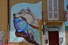 I murales di Quarna Sopra. (3) (frank28883) Tags: quarnasopra cusio verbanocusioossola murales murale lagodorta ortalake ortasee lupo wolf