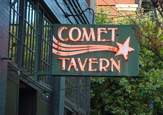 Comet Tavern (afagen) Tags: seattle washingtonstate capitolhill sign comettavern neon