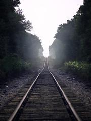 Tracks (patkelley3) Tags: train traintracks fog mist
