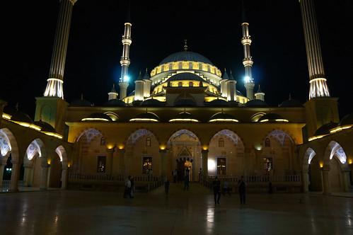 Islamic Mosque, Grozny. Chechen Republic, Russia