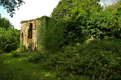 Candleston Castle ruins (cmw_1965) Tags: candleston castle merthyr mawr dunes bridgend south wales glamorgan cantilupe cantiloupe welsh ruins fortified manor house norman derelict masonry tower