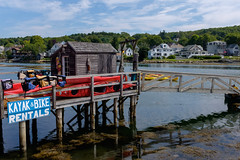 DSCF4385 (stevefreitag) Tags: boothbay maine summer newengland harbor x100t kayak fujifilm landscape seascape
