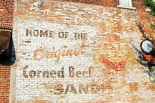 Haymarket Tap Corned Beef Sandwich - Sterling, Illinois