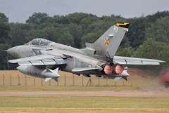 (scobie56) Tags: panavia tornado f3 ze163 hy 111 squadron 111sqn tremblers raf royal air force leuchars fife scotland riat 2010 international tattoo fairford