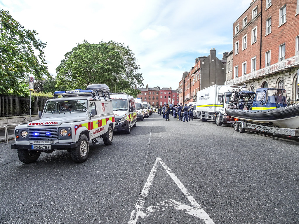 NATIONAL SERVICES DAY [PARADE STARTED OFF FROM NORTH PARNELL SQUARE]-143640