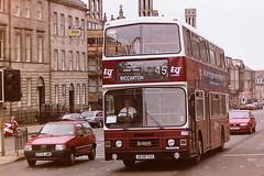 LOTHIAN REGIONAL TRANSPORT 838 J838TSC (bobbyblack51) Tags: lothian regional transport 838 j838tsc leyland olympian alexander rh edinburgh 1995