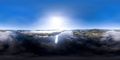 Morning Fog 2 (360x180) (ba7b0y) Tags: equirectangular ptgui pano panorama 360 360x180 dji mavic värmland fryken sunne torsby sweden sverige