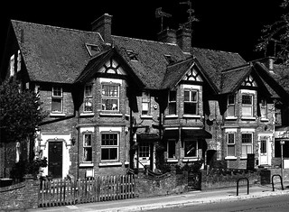 Houses on Western Road