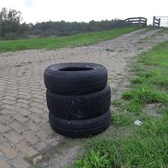 20180903_29 Lelystad (NL) abandoned car tires