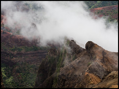 P8230330 (Jean-David & Anne-Laure) Tags: canyon gorge hawaii kauai landscape mountain nature outdoor pacific park rain reserve statepark usa waimea