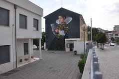 "Tomar - ""Bringing more life to Town"" (jaime.silva) Tags: projetomatilha tomar portugal portugalsko portugalia portugália portugalija portugali portugale portugalsk portogallo portugalska portúgal portugāle urban urbanart arteurbana mural muralpainting spray spraypaint spraypainting"