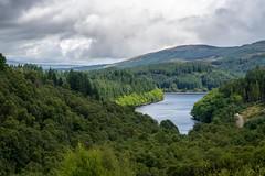 View on loch Drunkie