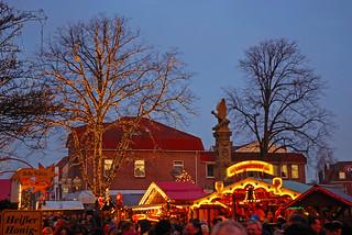 Christmas market in Leer (East Frisia)